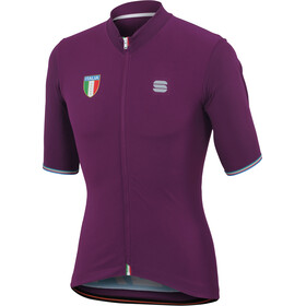 Sportful Italia CL Bike Jersey Shortsleeve Men purple